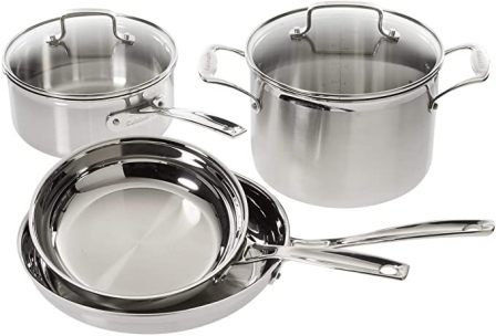 Cuisinart 6-Piece Multi-Clad Pro Cookware Set