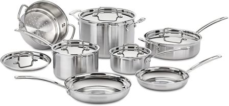 Cuisinart 8-Piece Multi-Clad Pro Cookware Set