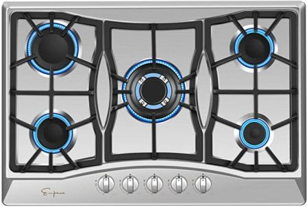 Empava 30″ Built-in Gas Cooktop in Stainless Steel 30XGC5B70C