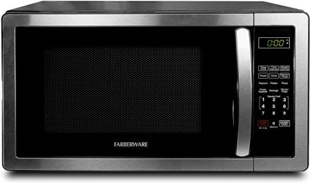 Farberware FMO11AHTBKB Spacious and Stylish Stainless Steel Microwave 1000W