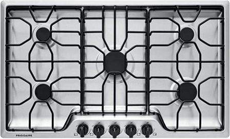 Frigidaire FFGC3612TS 36-inch Gas Cooktop Stainless Steel