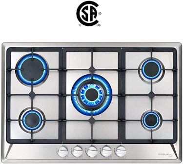 GASLAND Chef GH60BF 24″ Gas Cooktop