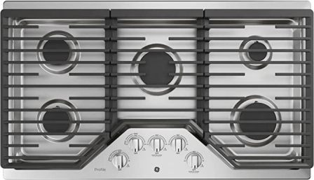 GE PGP7036SLSS 36 Built-In Gas Cooktop