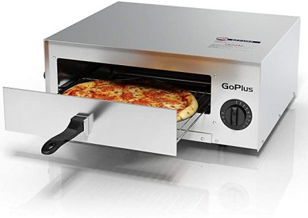 GOPLUS STAINLESS ELECTRIC PIZZA MAKER