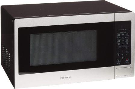 Kenmore 70913 Stainless Steel Microwave with 12 One-Touch Programs