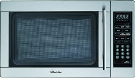 Magic Chef MCPMCD1310ST 1.3 Cu.ft 1000W Countertop Microwave