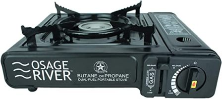 Osage River Portable Dual Fuel Camping Stove