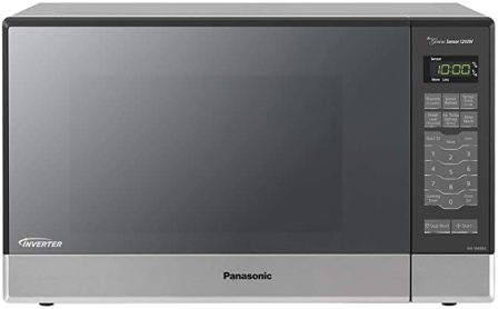 Panasonic SN686S Countertop Stainless Steel Microwave for Fast Cooking & Even Results