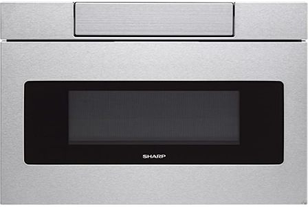 Sharp SMD2470AS Sleek and Stylish Auto Drawer Microwave System