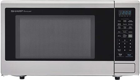Sharp ZSMC2242DS Family-size Extra-Large Stainless Steel Countertop Microwave