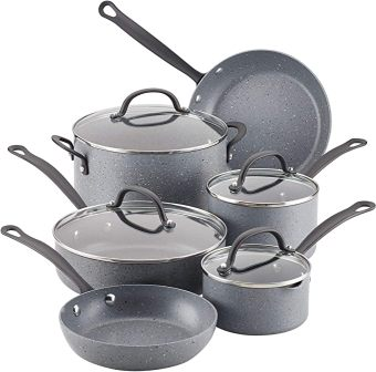 10-piece Quartz pans and pots