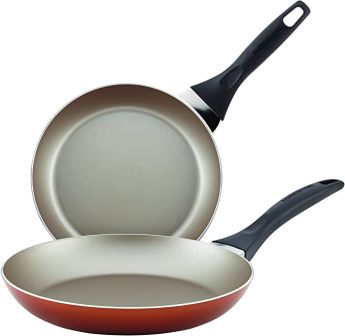 2-piece nonstick frying pan set