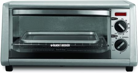 4-SLICE STAINLESS STEEL TOASTER OVEN TO1430S