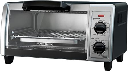 4-SLICE STAINLESS STEEL TOASTER OVEN TO1705SB