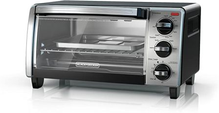 4-SLICE TOASTER OVEN WITH NATURAL CONVECTION TO1750SB