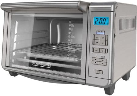 6-SLICE DINING-IN™ DIGITAL CONVECTION TOASTER OVEN TO3280SSD