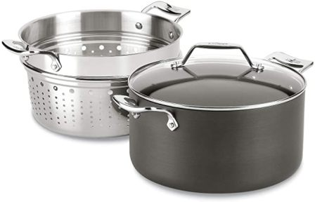 All-Clad Essentials Nonstick Multipot with Insert