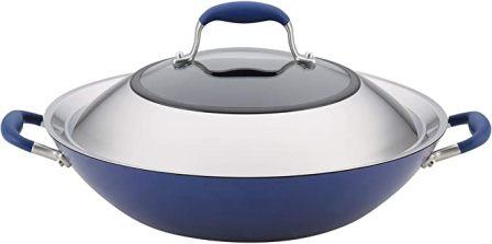 Anolon Advanced Anodized Stir-Fry Pan