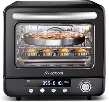 Aobosi Air Fryer Oven and Electric Toaster