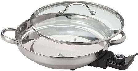 Aroma Housewares AFP-16005 Gourmet Series Electric Skillet