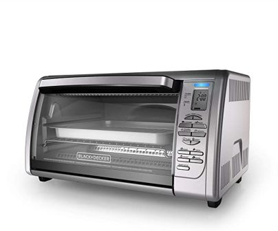 BLACK AND DECKER COUNTERTOP CONVECTION TOASTER OVEN CTO6335S