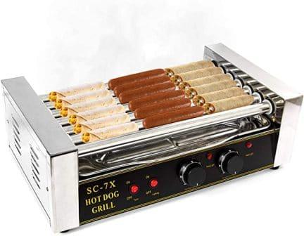 Biltek Commercial Hot Dog Cooker