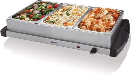 Buffet Server Warming Tray and Triple Tray by Oster
