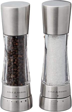 COLE & MASON Derwent Salt and Pepper Grinder Set