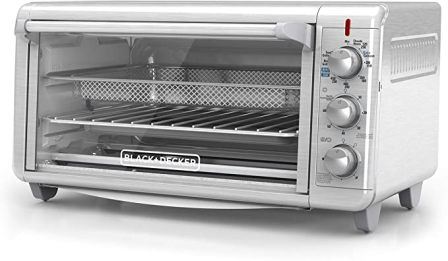 CRISP 'N BAKE EXTRA-WIDE AIR FRY TOASTER OVEN TO3265XSSD