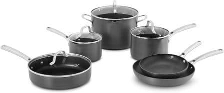 Calphalon Classic 10 Piece Cookware Set