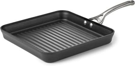 Calphalon Contemporary Hard-Anodized Aluminum Square Grill Pan