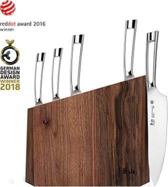 Cangshan N1 Series 61017 6-Piece German Steel Forged Knife Block Set