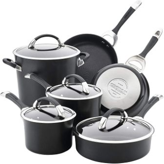 Circulon 87526 Symmetry Hard Anodized Aluminum Nonstick Cookware Set
