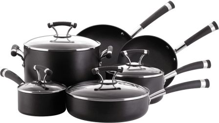 Circulon Contempo Hard Anodized Nonstick Cookware Pots and Pans Set