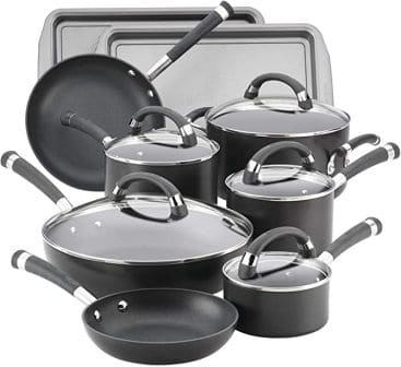 Circulon Espree Hard Anodized Nonstick Cookware Pots and Pans Set