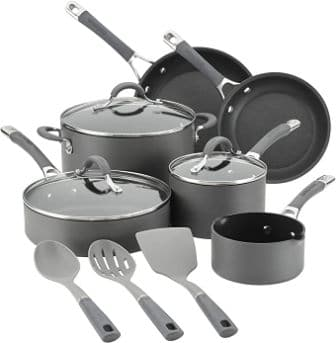 Circulon Radiance Hard Anodized Nonstick Cookware Pots and Pans Set