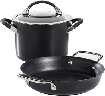 Circulon Symmetry 3-piece Hard-Anodized Nonstick Cookware Set