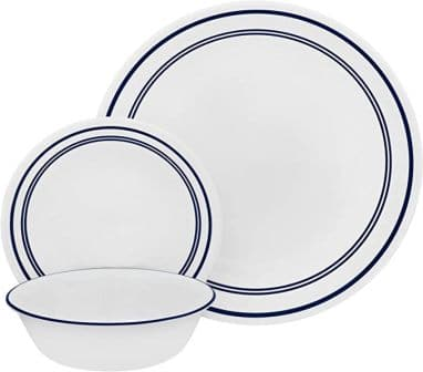 Corelle Ocean Blue 18-Piece Dinnerware Set