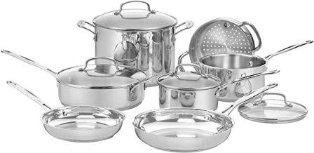 Cuisinart 77-11G Chef's Classic Cookware Set