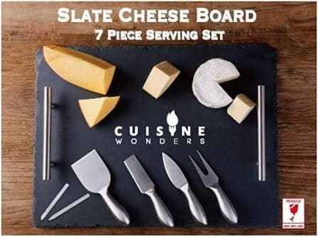 Cuisine Wonders Slate Cheese Board