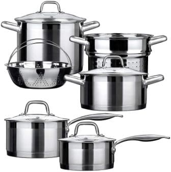 Duxtop Professional Induction Cookware Set