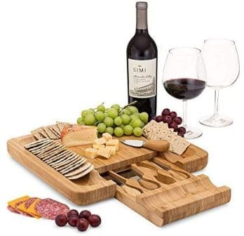 Dynamic Gear Bamboo Cheese Board Set