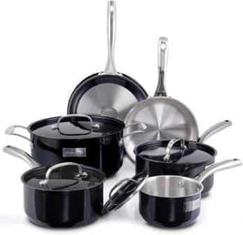 Fleischer & Wolf Titanium Coated Cookware Set