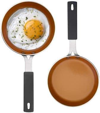 GOTHAM STEEL 2083 Set of 2 Fry Pans