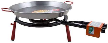Garcima 18-Inch Carbon Steel Paella Pan