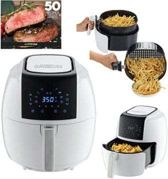GoWISE USA 5.8-QT 8-in-1 Digital Air Fryer