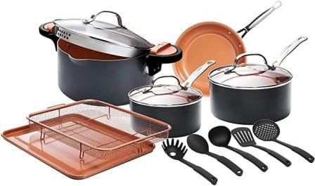 Gotham Steel Home Kitchen Pots and Pans 14-piece Set