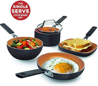 Gotham Steel Mini Stackmaster Cookware Set