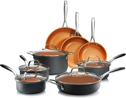 Gotham Steel Pro 1838 Anodized Cookware Set (Top-pick product)