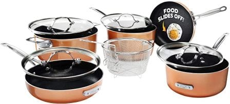 Gotham Steel Stackmaster Pots and Pans Set